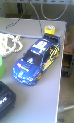 インプレッサWRC2006モンテ仕様のラジコン