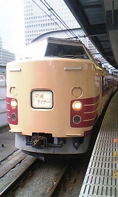 新宿から送り込まれる183+189系