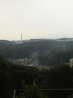 よこやまの道から小山田を望む