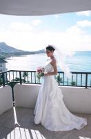 ハワイウェディングドレス