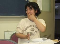 松野先生にいじられる