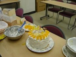 巨大ケーキ!