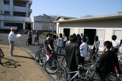 いざサイクリング