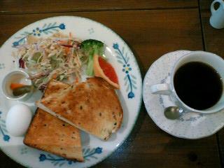 玄米トーストセット