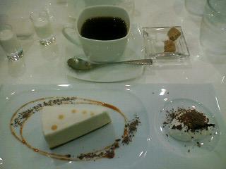 メープルレアチーズケーキ