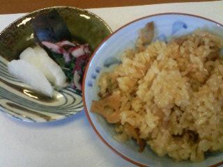 レンコンご飯