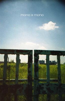 工場の跡地に残る錆びた門
