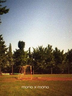 誰も居ない公園の錆びたゴール