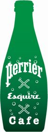 Esquire×Perrier×Cafe