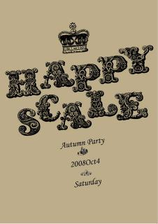 happyscale vol.33 - Autumn Party -