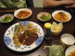 その日の食卓(手打ちパスタ)