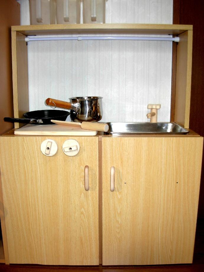 キッチン ままごとキッチン カラーボックス : ... 手作り日記 ままごとキッチン