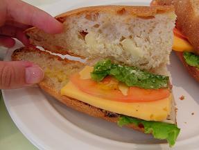 パストラミとチーズのカスクルート2