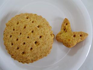 杢キリン 南瓜とひよこ豆のクッキー1