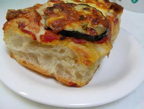 BREAD☆ROOM なすとトマトのピザ2