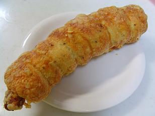 モミパン 粒マスタードピクルスベーグルドッグ1