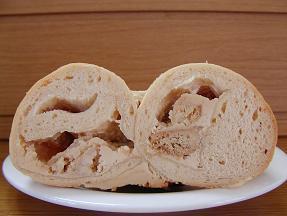 モミパン キャラメルチーズケーキ風2