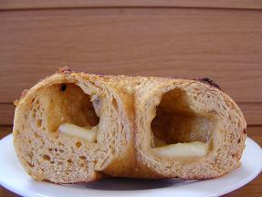 めろっこちゃん ゆず味噌七味チーズベーグル2
