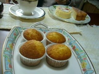 手作りケーキです。