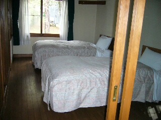 ベッドルームもあります。