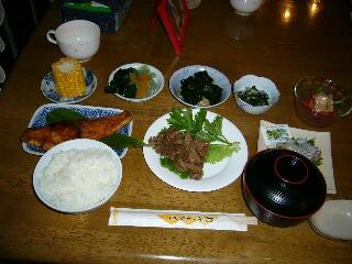 和食でお腹いっぱいです~