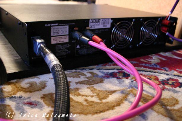 電源ケーブルを接続してみる
