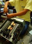 修理中のPMA-2000