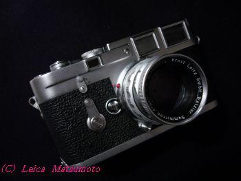 麗香所有のLEICA M3 & ズミクロン50mm