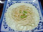 枝豆と豆乳の冷製パスタ