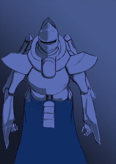未来的な鎧?