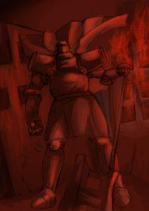 黒騎士と災禍色付き