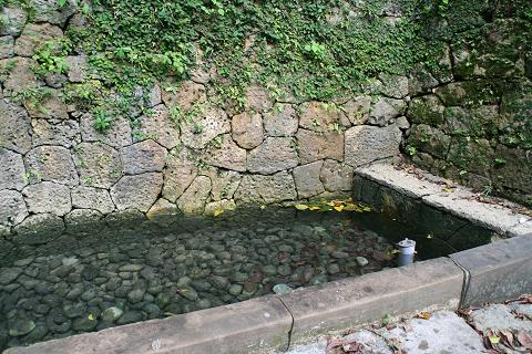 金城町の石畳(仲之川)07.8.18-2