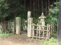 佐々木只三郎墓所
