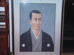 清河八郎の画