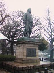 上野公園、西郷隆盛像
