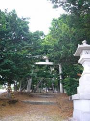 神山稲荷神社(権現台場跡)