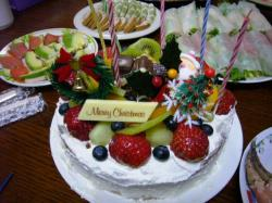 てんこ盛りケーキ