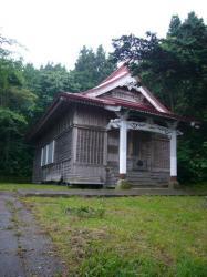 富川八幡宮社殿