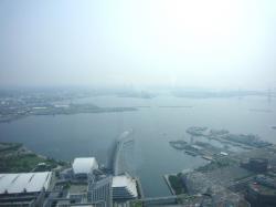 横浜港遠景