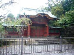 常憲院霊廟勅額門