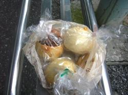 「むぎわらい」のパン