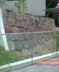 江戸城外堀の石垣