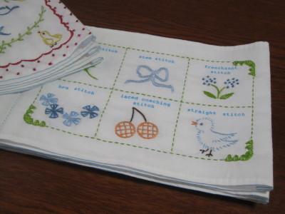 フェリシモ刺繍1