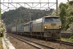 普通列車の続行で来ました 函南1008発車の模様