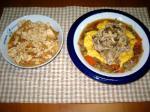 豚と野菜のオイスターソース炒め定食