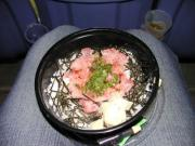 ネギトロ丼がスタで食べれる時代になったんだなぁ……1000円はちょっと高いけどさ