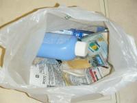 洗面台ゴミ