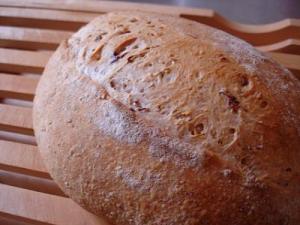 小豆パン(クコの実酵母)