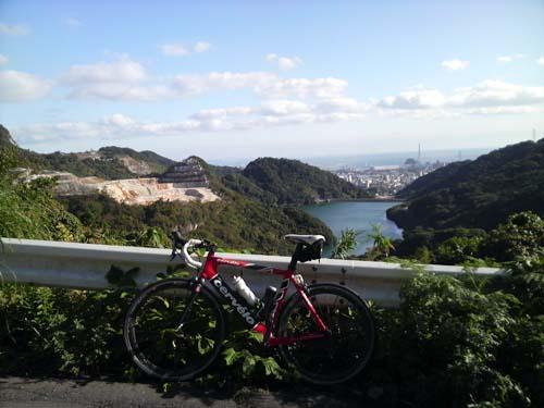 京都峠からの眺め