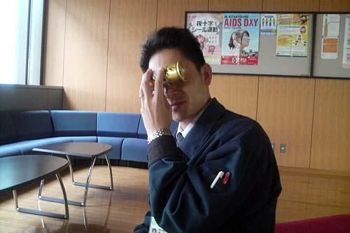 仕事中のhi-ro1113さん
